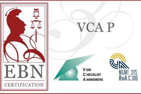 Quality Pumps beschikt over ISO 9001 en VCA P